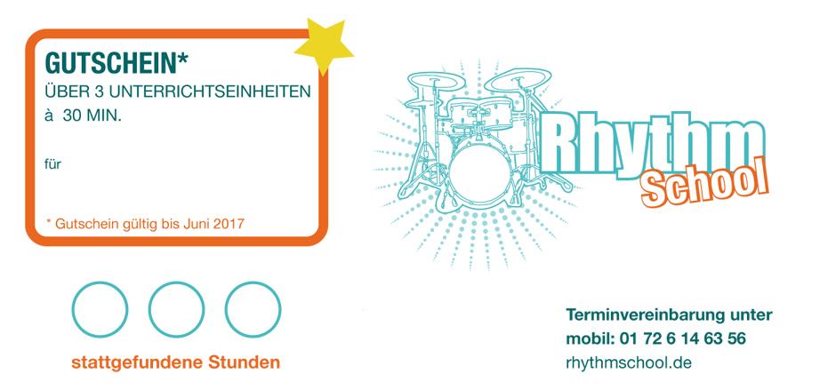 Gutschein Rhythmschool-Mainz