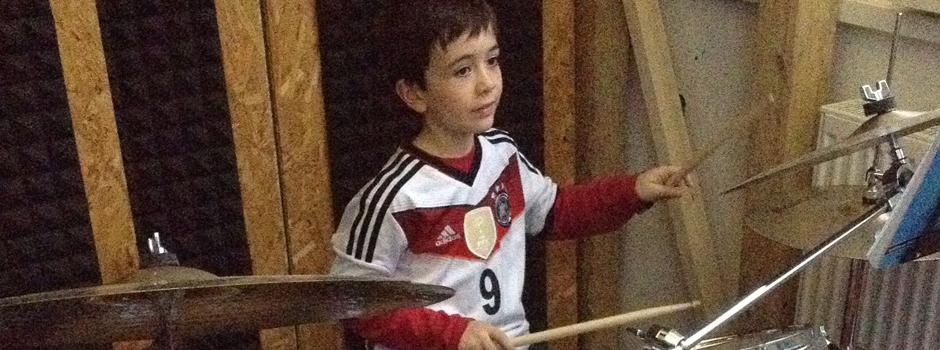 Schlagzeug-Unterricht in der Rhythmschool-Mainz