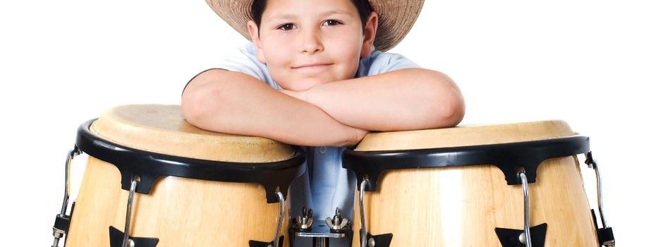 Billy the Trommelkid beim Kindergeburtstag mit der Rhythmschool Mainz
